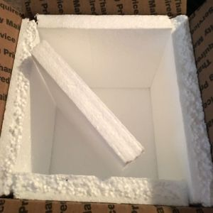 insulated shipping box for snails