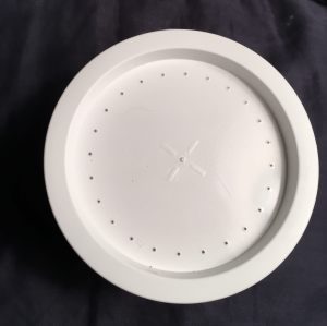 Snail shipping cup lid with air holes